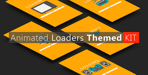 CodeCanyon Animated Loaders Themed KIT 8769895