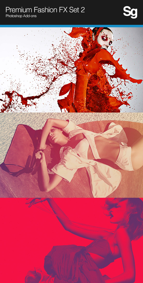 Premium Fashion FX Set 2 - Photo Effects Actions