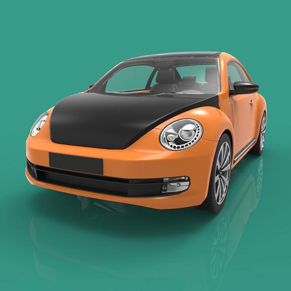 3DOcean Coco Sport Car 8799946