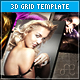 3D Grid XML Template w/ flickr & YouTube Support - ActiveDen Item for Sale
