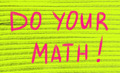do your math concept - PhotoDune Item for Sale