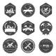 Vintage Carpentry Tools, Labels and Design - GraphicRiver Item for Sale