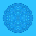 Blue background with abstract shape - PhotoDune Item for Sale