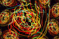 Abstract pattern of motion lights - PhotoDune Item for Sale