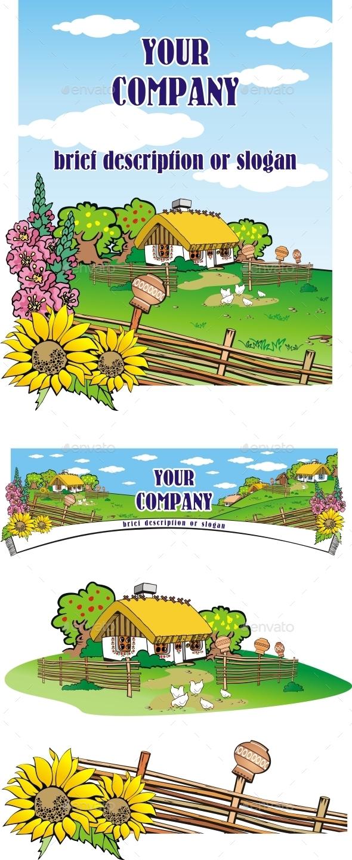 GraphicRiver Country Landscape 8705521