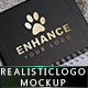Photo Realistic Logo Mock-Up - GraphicRiver Item for Sale