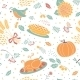 Thanksgiving Pattern - GraphicRiver Item for Sale