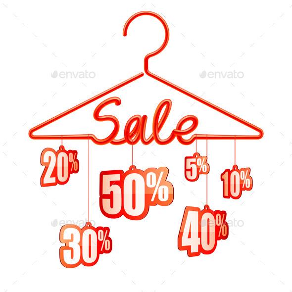 GraphicRiver Sale Hanger 8802946
