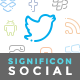 Significon Social - 25 Social Media Icons - GraphicRiver Item for Sale