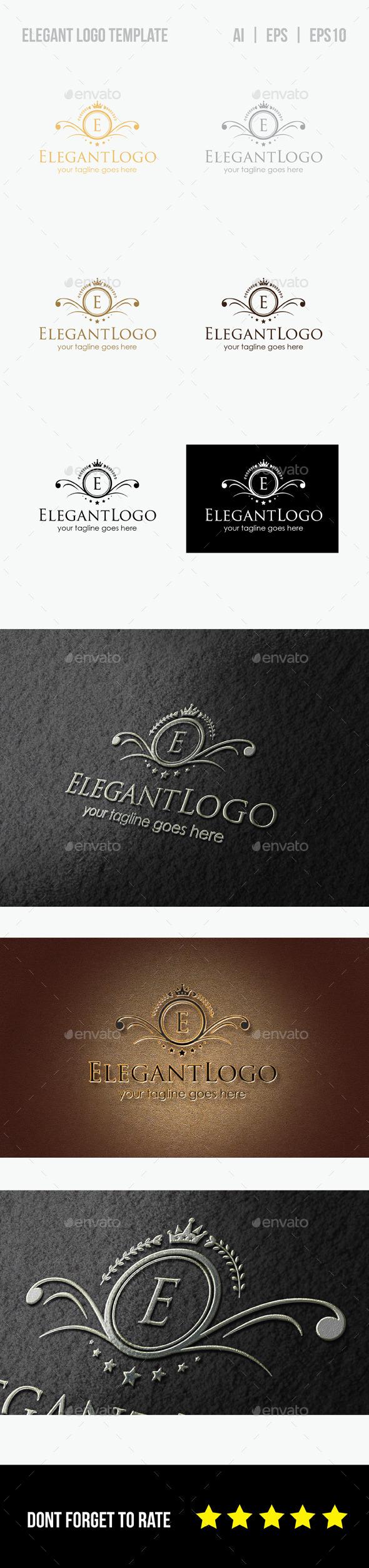 GraphicRiver Elegant Logo Template 8804319