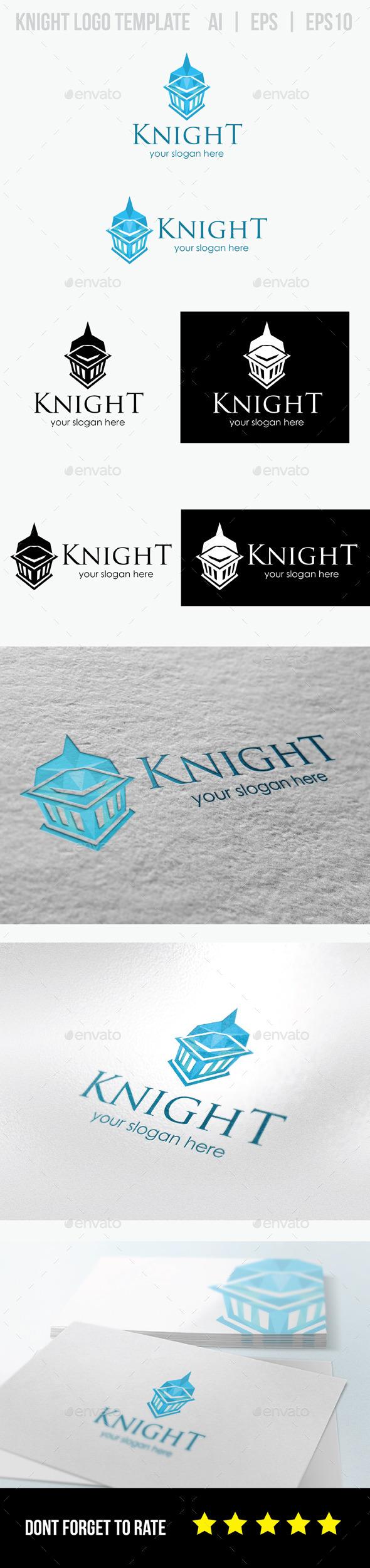 GraphicRiver Knight Logo 8804370