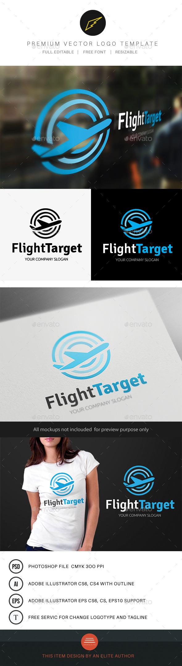GraphicRiver Flight Target 8804389