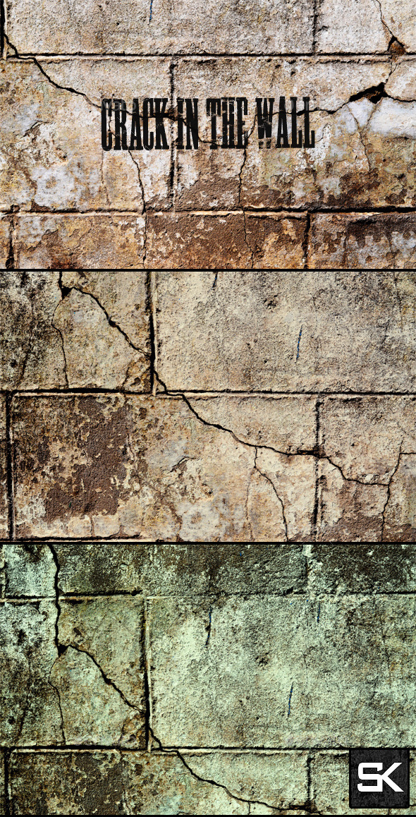 GraphicRiver Crack In The Wall 8804767