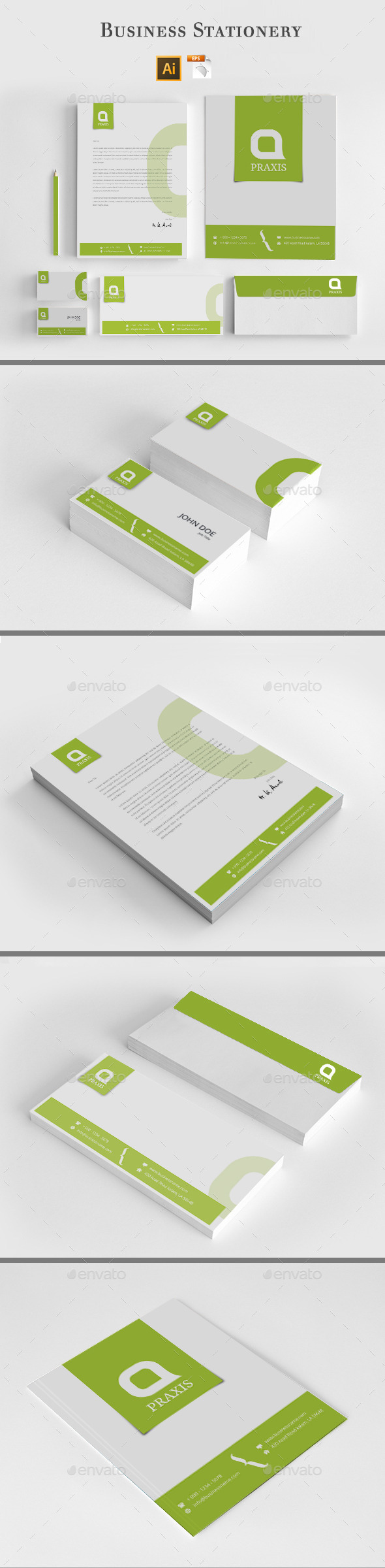 GraphicRiver Business Stationery 8804791