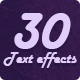30 Retro & Modern Style Text Effects - GraphicRiver Item for Sale