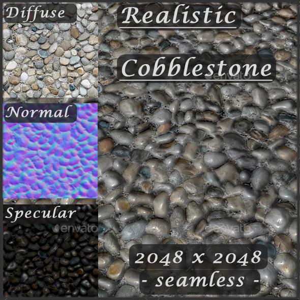3DOcean Cobblestone Texture Seamless 8805222