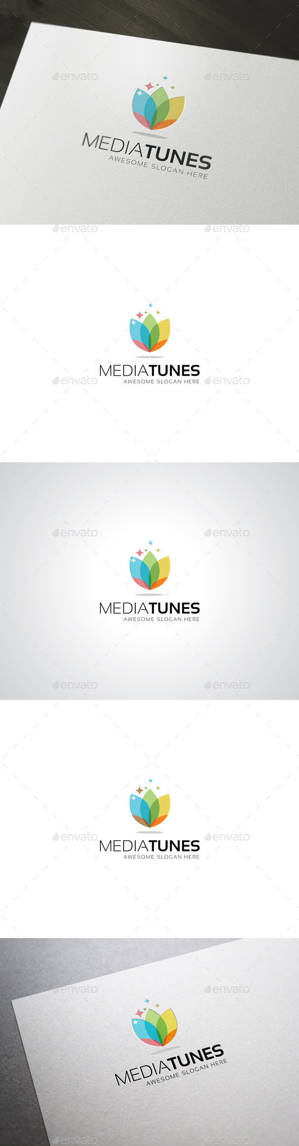 GraphicRiver MediaTunes Logo Template 8805244
