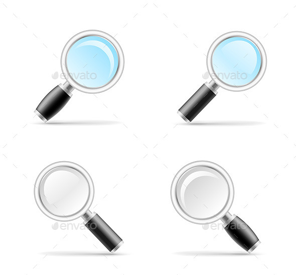 GraphicRiver Magnifying Glasses 8805314