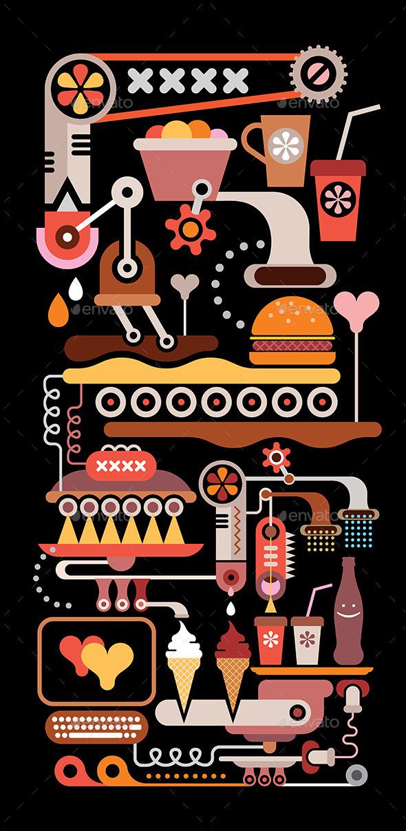 GraphicRiver Restaurant Kitchen 8805396