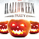 Halloween Party Template with Facebook n Instagram  - GraphicRiver Item for Sale