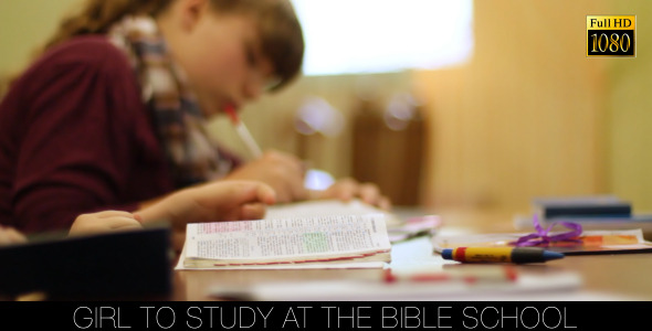 Girl To Study At The Bible School 3