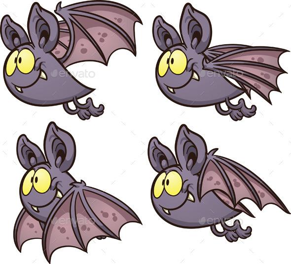 GraphicRiver Bat Flight Cycle 8808170