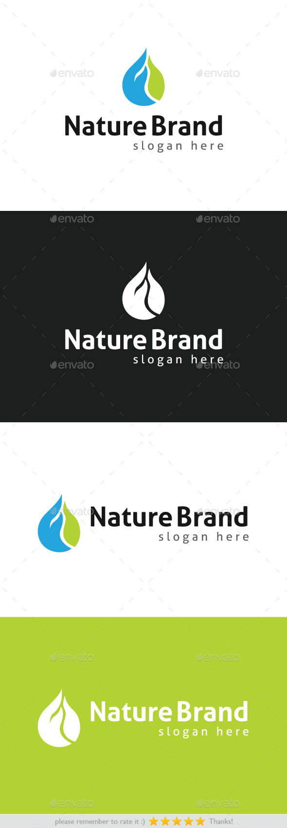 GraphicRiver Nature Brand 8808177