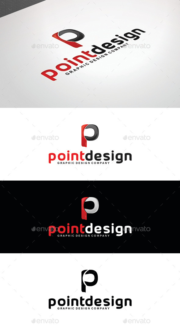 GraphicRiver Point Design Logo Template 8808184