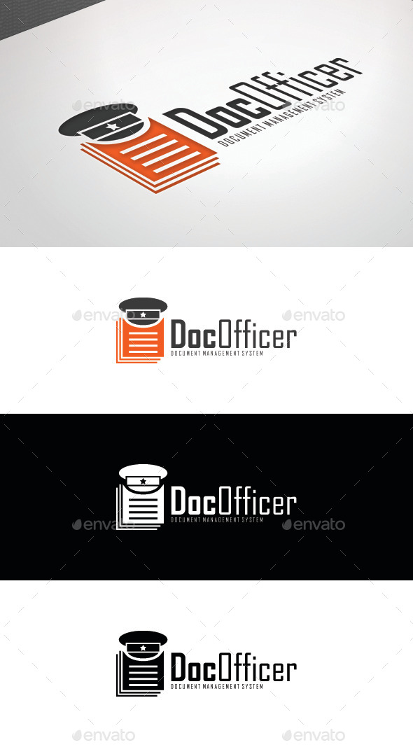 GraphicRiver Doc Officer Logo Template 8808270