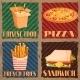 Fast Food Menu Cards - GraphicRiver Item for Sale