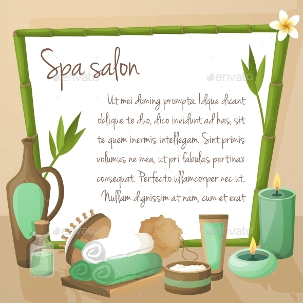 GraphicRiver Spa Salon Background 8809205