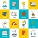 Education Icons Flat - GraphicRiver Item for Sale