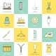 Sewing Equipment Icons - GraphicRiver Item for Sale