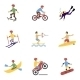 Extreme Sports Icons Set - GraphicRiver Item for Sale