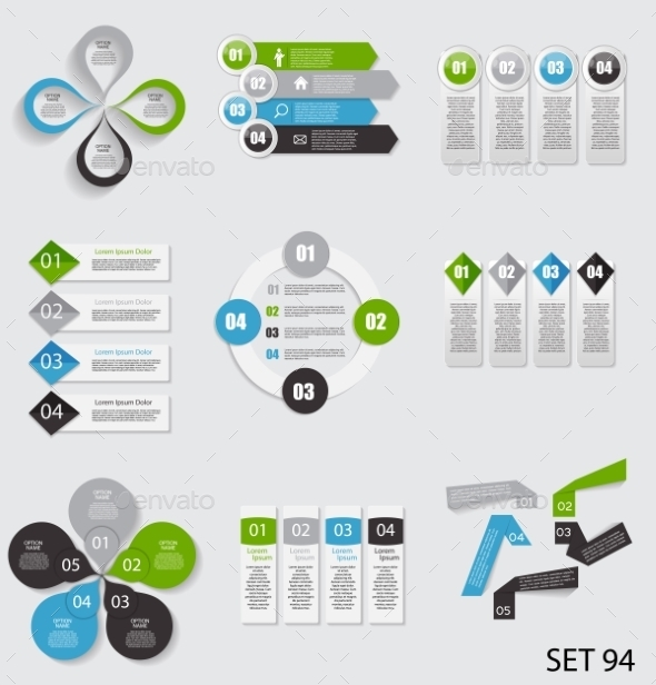 GraphicRiver Collection of Infographic Templates for Business 8809361