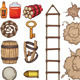 Old West Items - GraphicRiver Item for Sale