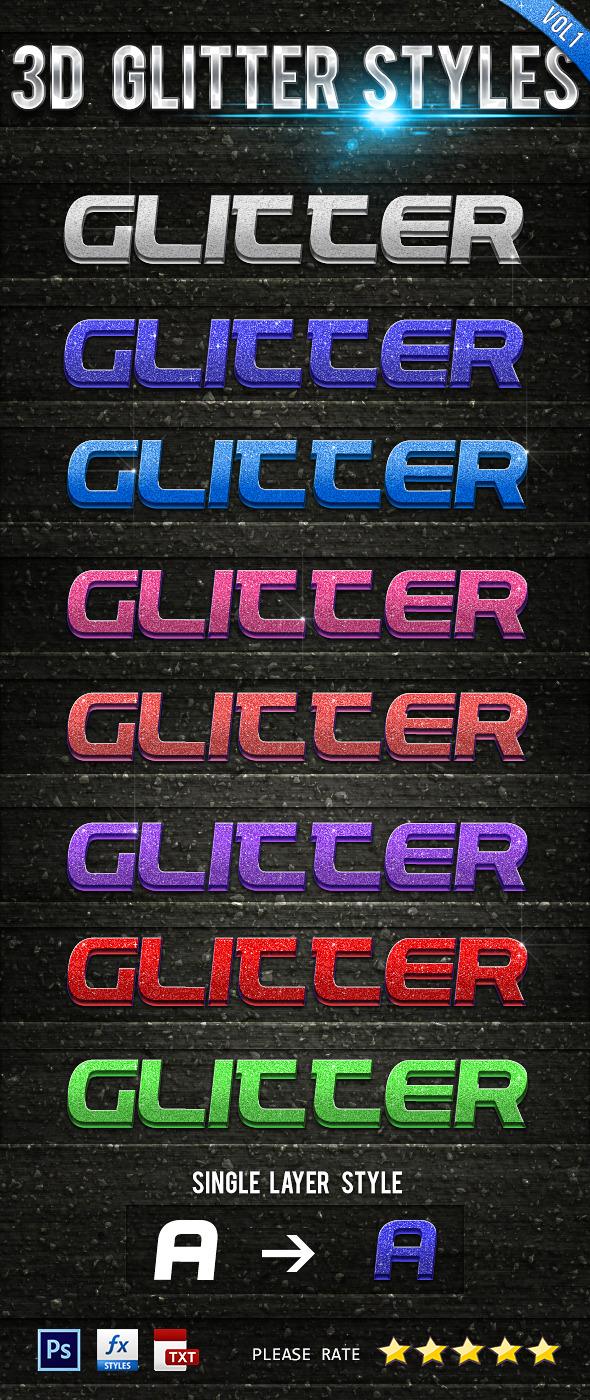 3D Glitter Styles Vol 1