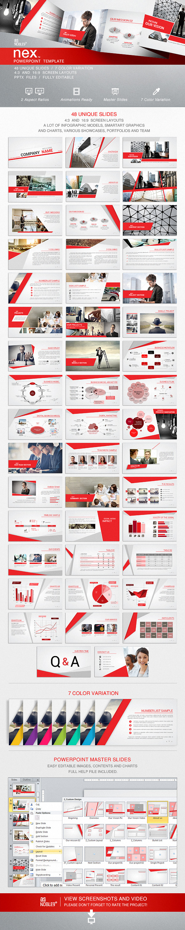 NEX PowerPoint Template