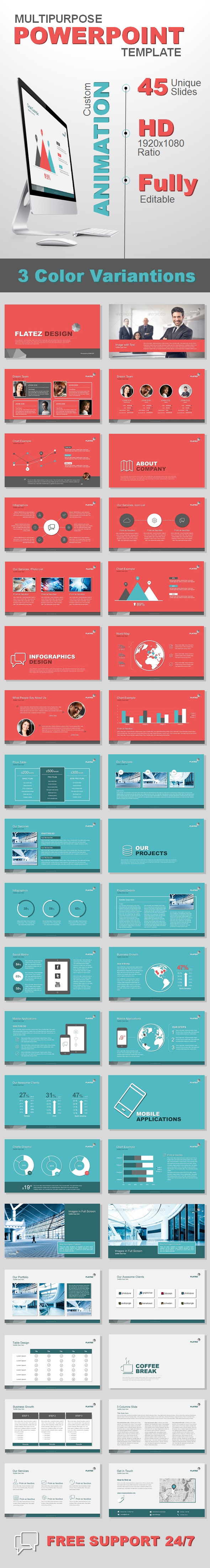 Multipurpose Business Template