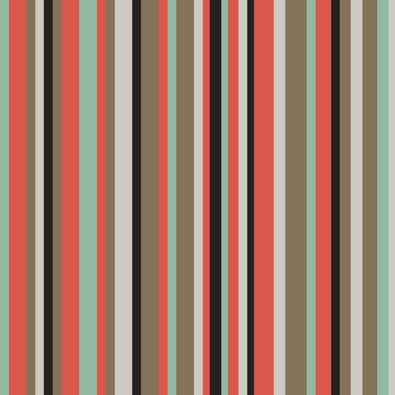 Set of Retro Geometric Seamless Background Pattern by