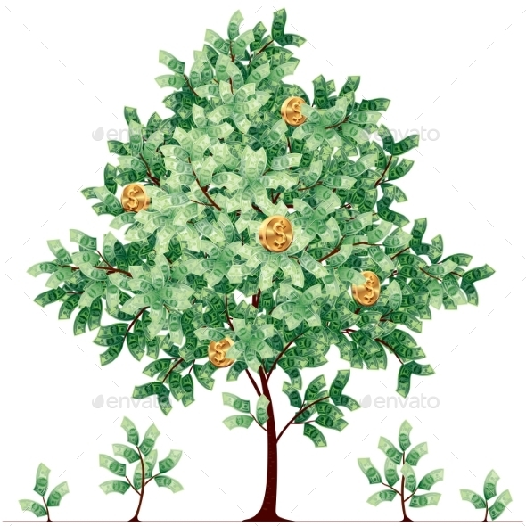 GraphicRiver Dollar Tree 8811567
