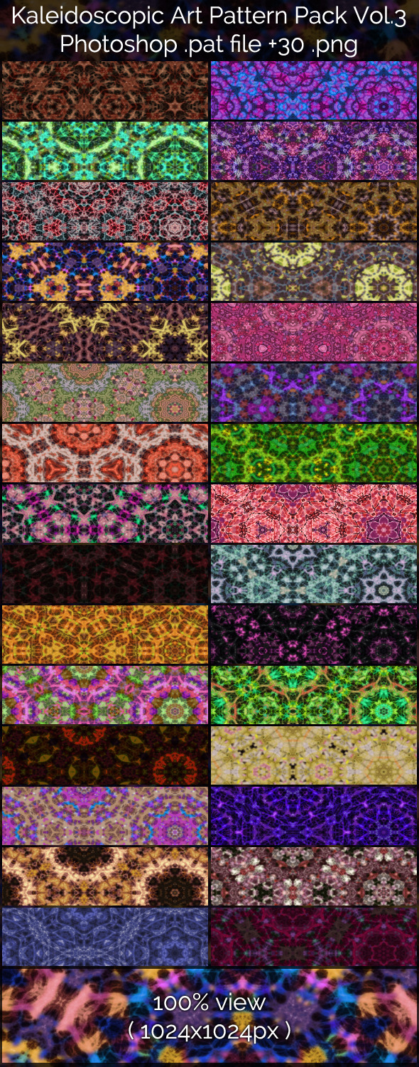Kaleidoscopic Art Patterns 3