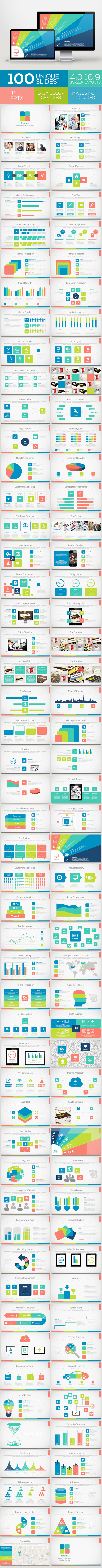 Bandung Powerpoint Template Volume 2 - Business PowerPoint Templates
