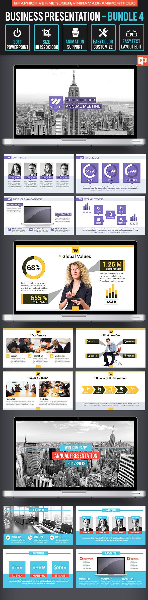 Business Presentation Bundle 4