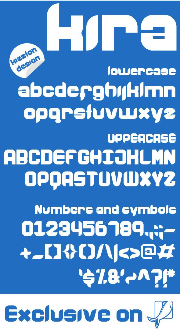 Kira Premium Font