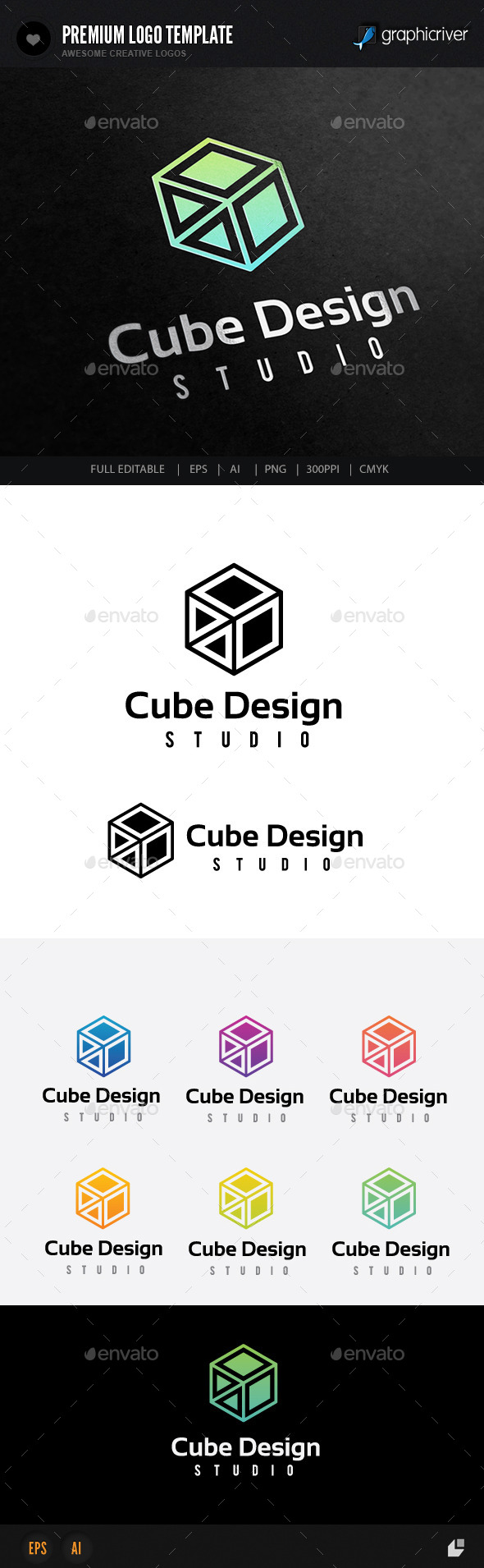 GraphicRiver Cube Design Studio 8811676