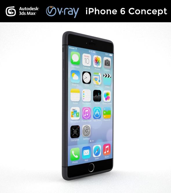 3DOcean iPhone 6 Concept 8811864