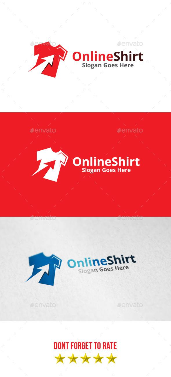 GraphicRiver Online Shirt Logo 8812353
