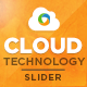 Cloud Hosting & Technology Slider - GraphicRiver Item for Sale