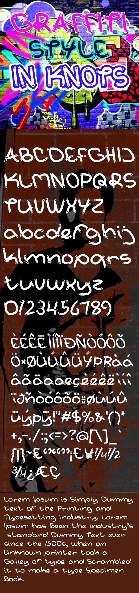 In Knots Font